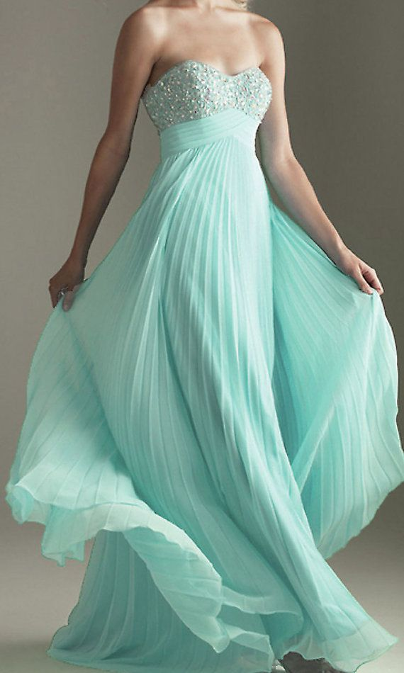 strapless prom dress cheap prom dresses long prom by okbridal, $129.00