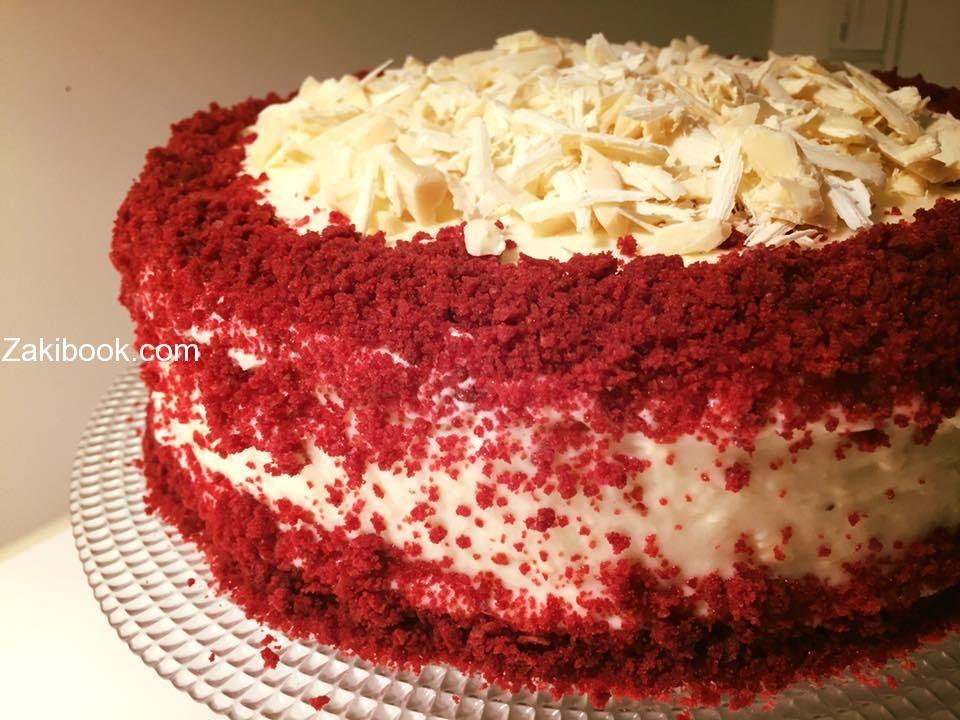 ريد فلفيت بحشوة التشيز كيك لأصحاب الذوق الملكي زاكي Food Desserts Cake