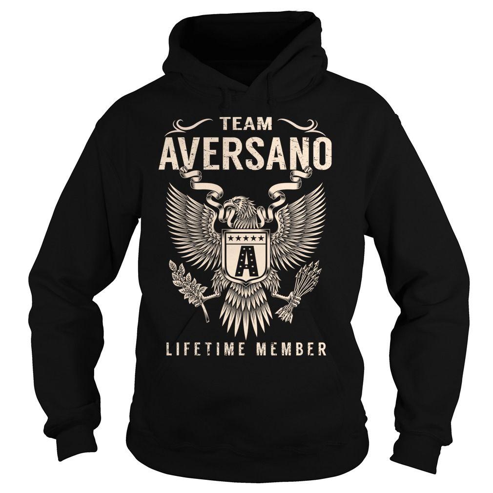 Team AVERSANO Lifetime Member - Last Name, Surname T-Shirt