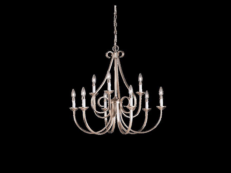 Cayman 9 Light Candle Style Chandelier Chandelier