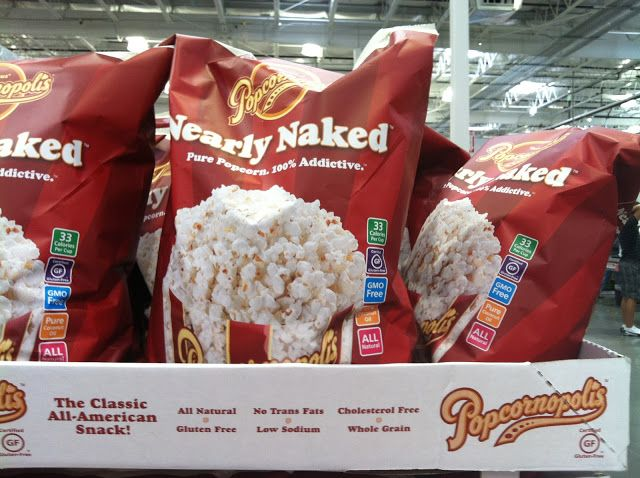 Popcorn Bar Bagged In Bulk Costco