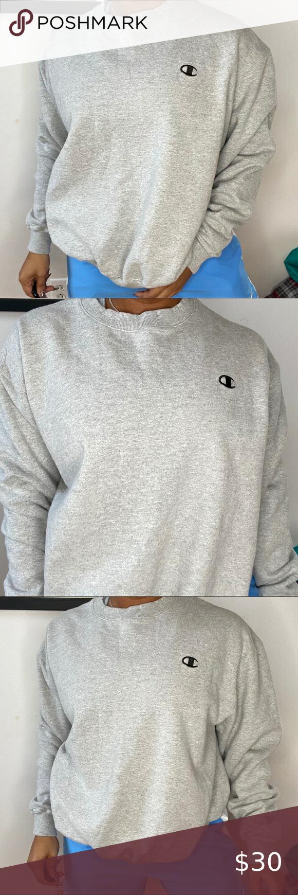 Champion Authentic Sweatshirt Sweatshirts Sweatshirt Tops Sweatshirts Hoodie [ 1740 x 580 Pixel ]