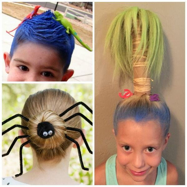 30 Crazy Hair Ideas For Kids These Are Awesome My Kids Love Crazy Hair Day Crazyhairideas Kidscrazyhair Kidscrazy Wacky Hair Days Wacky Hair Crazy Hair