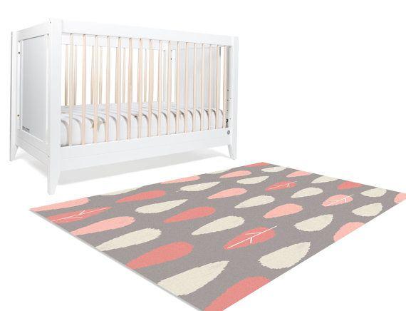 Floor Rug Area Woodland Nursery By Hawkerpeddler