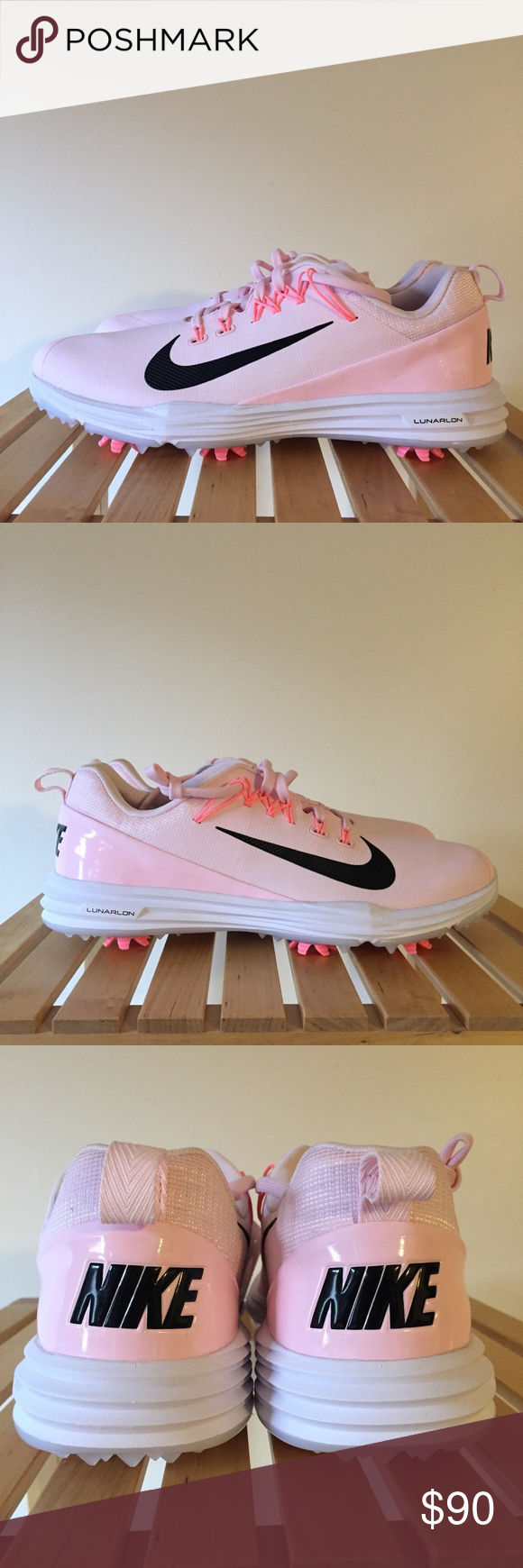 Details about Nike Lunar Command 2 Women's Golf Shoes, Pink White MSRP $135 880120 601