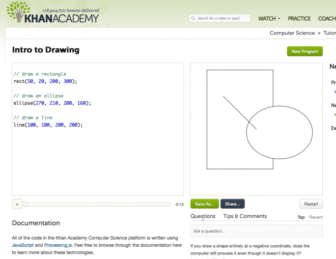 Khan Academy Adds Computer Science Courses | School (but