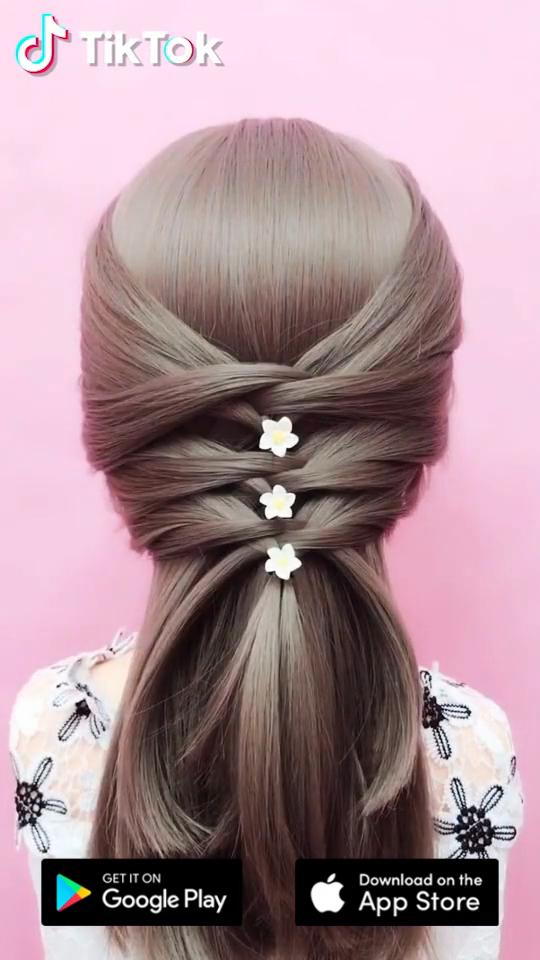 Pin By Dubynina Ekaterina On Prichyoski In 2021 Long Hair Styles Hair Videos Hair Styles