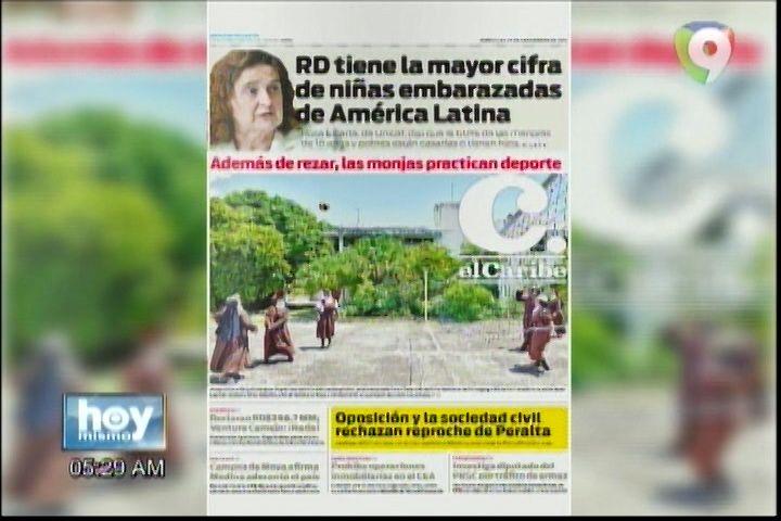 Portada De Los Principales Periódicos de Hoy Miércoles 28 De Septiembre Del 2016