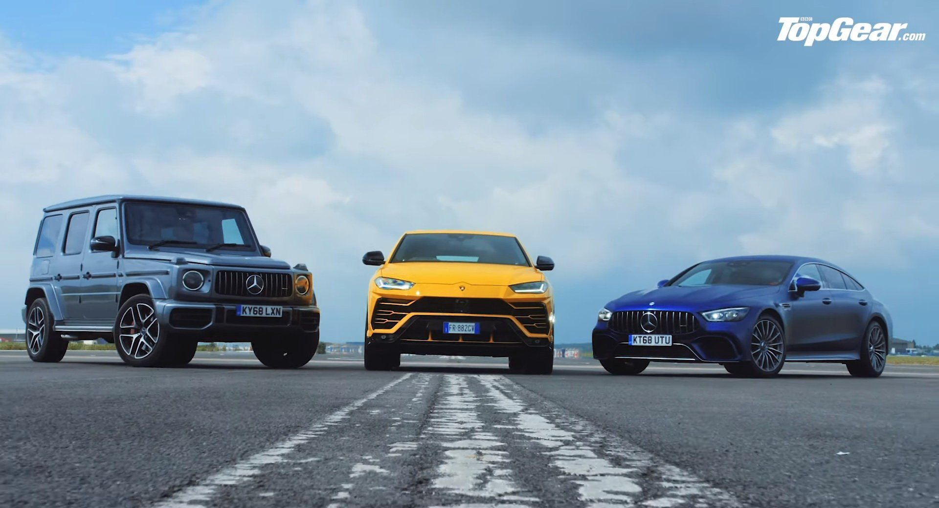 Lamborghini Urus Teaches Some Manners To Mercedes Amg Gt 63 S And