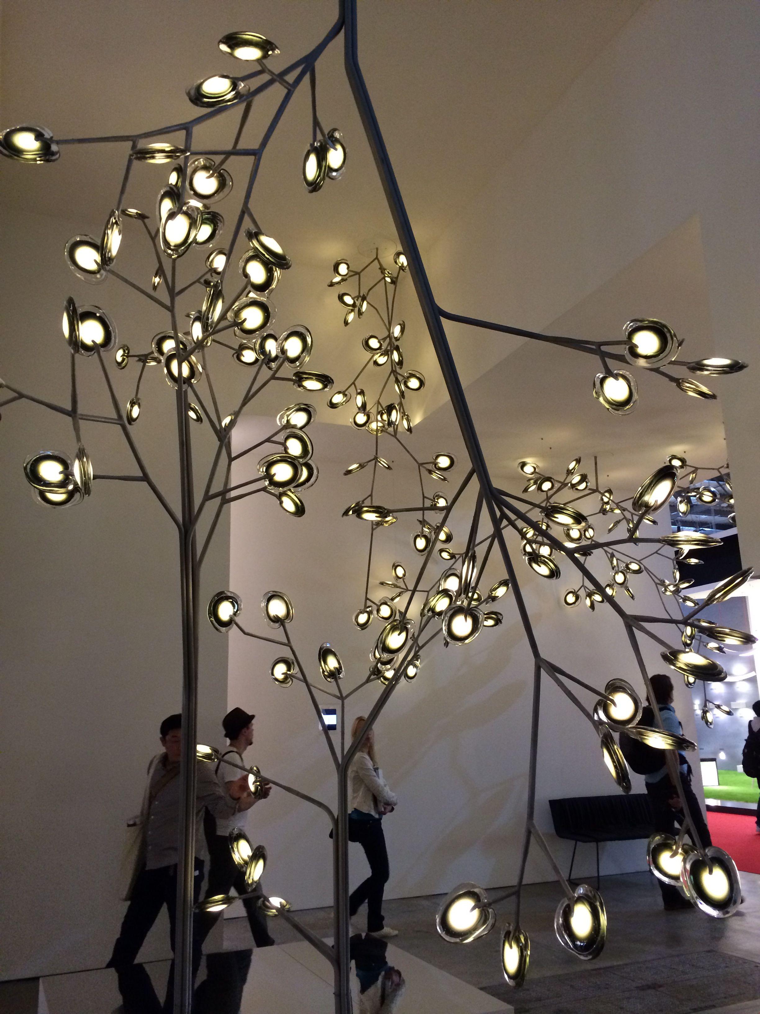 16 by Bocci Lighting at Euroluce Milan Furniture Fair 2015 - Day 1 Pinterest