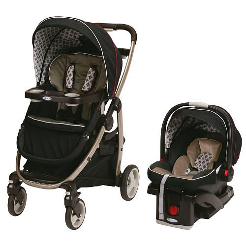 Graco FastAction Fold Sport Click Connect Travel System Stroller ...