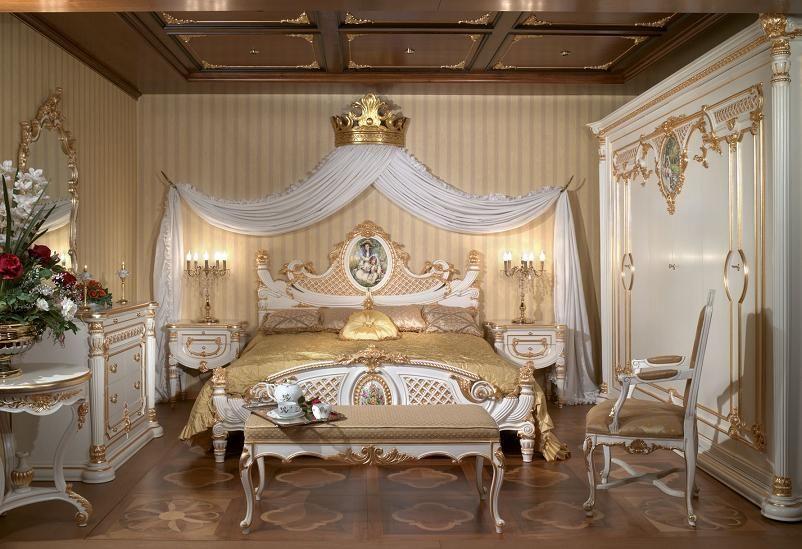 Dream Rococo Bedroom
