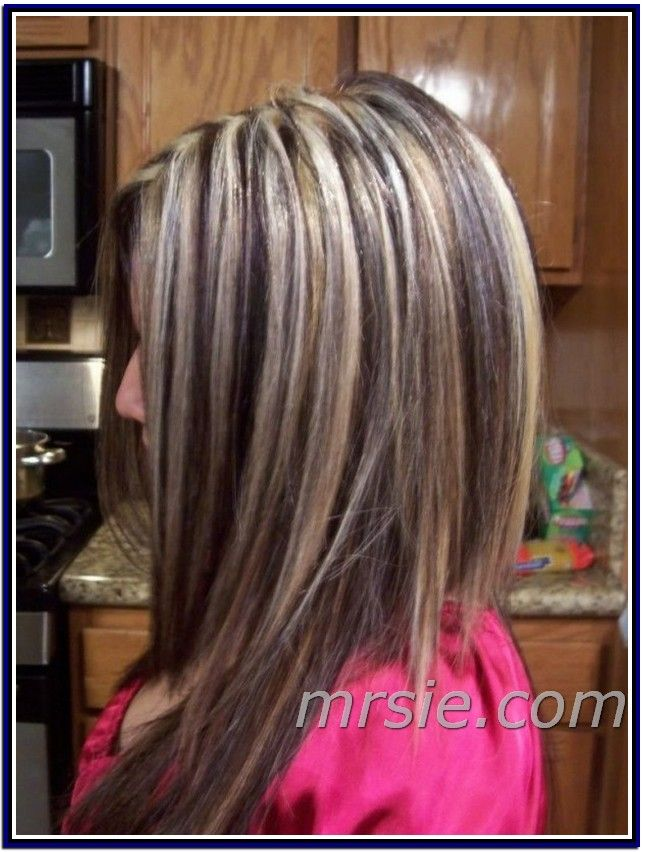 dark hair with lots of highlights hairs picture gallery