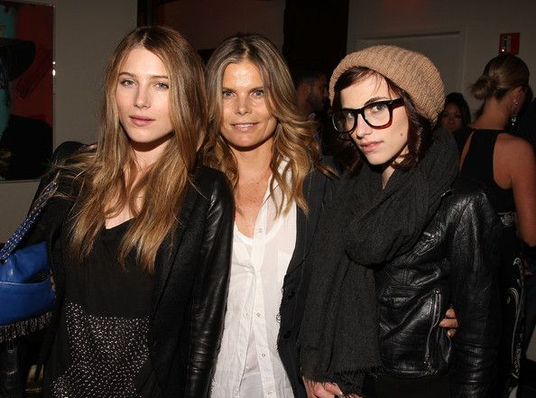 Mariel Hemingway with daughters Dree and Langley