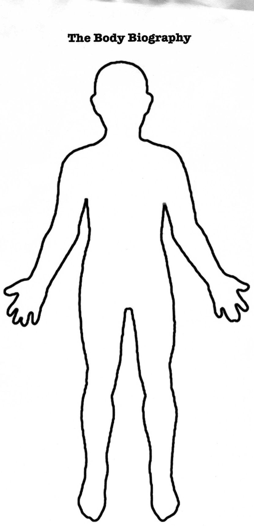 Free Human Outline Template, Download Free Clip Art, Free