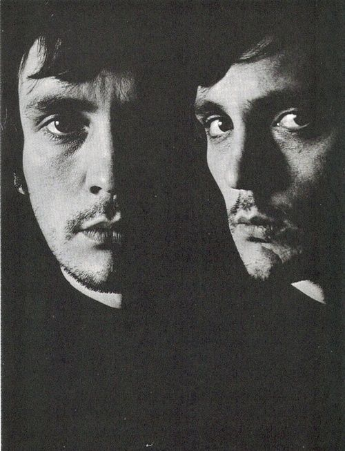 Terence Stamp photographed by David Bailey