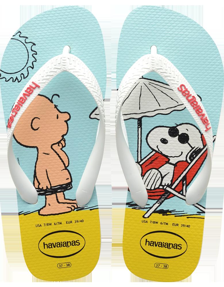 6a28a226fddbb Women s Snoopy Flip Flop- Snoopy Flip Flops for Women- Havaianas ...
