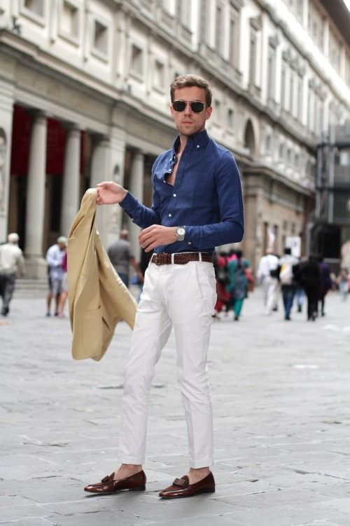 5b814a3a3 Filippo Cirulli White Trousers