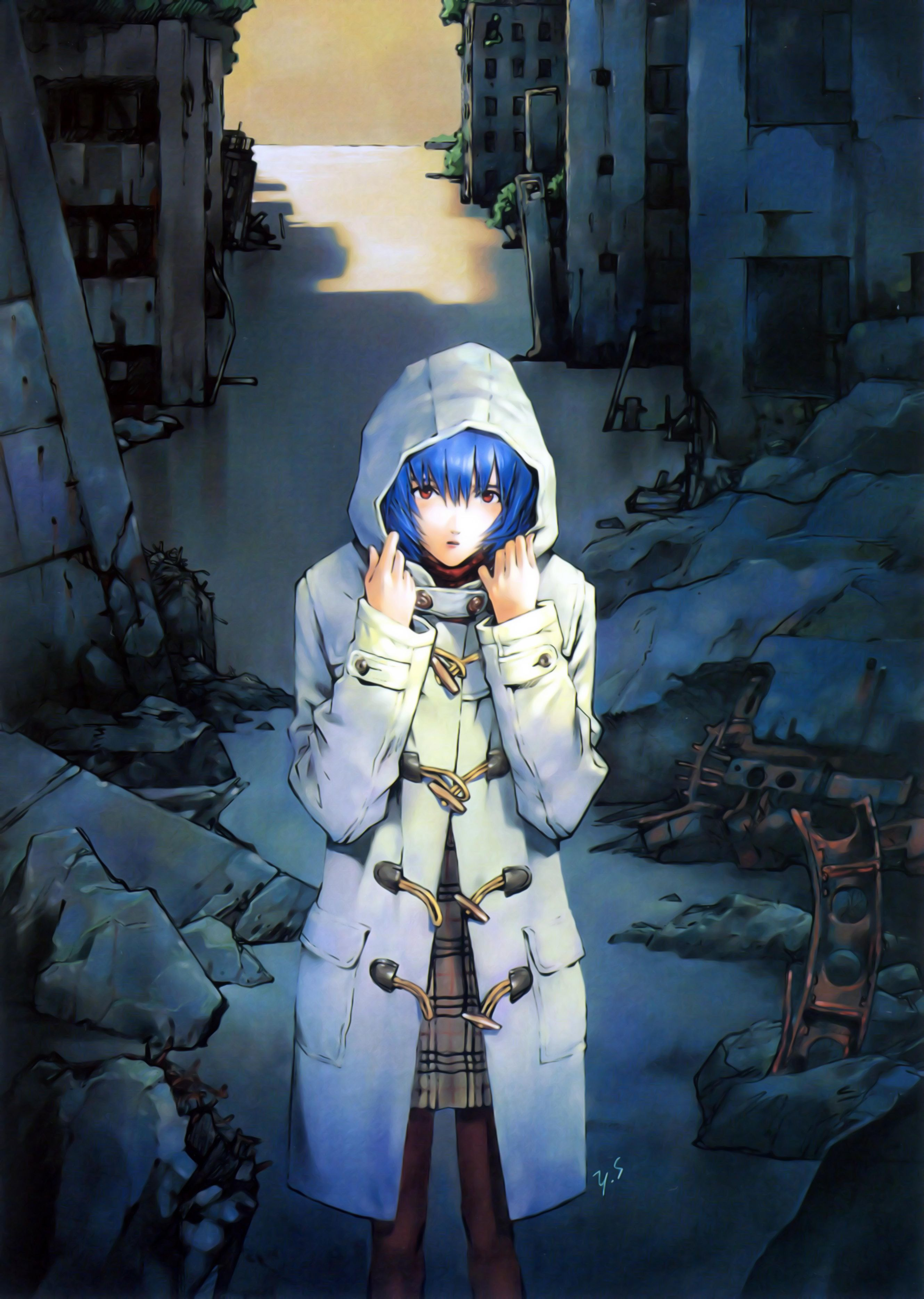 Ayanami Rei Neon Evangelion Neon Genesis Evangelion Evangelion