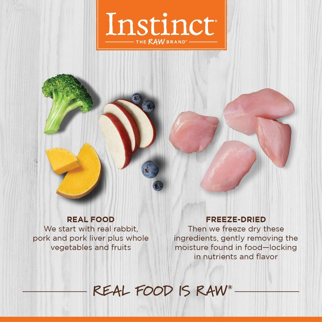 instinct rabbit dog food reviews