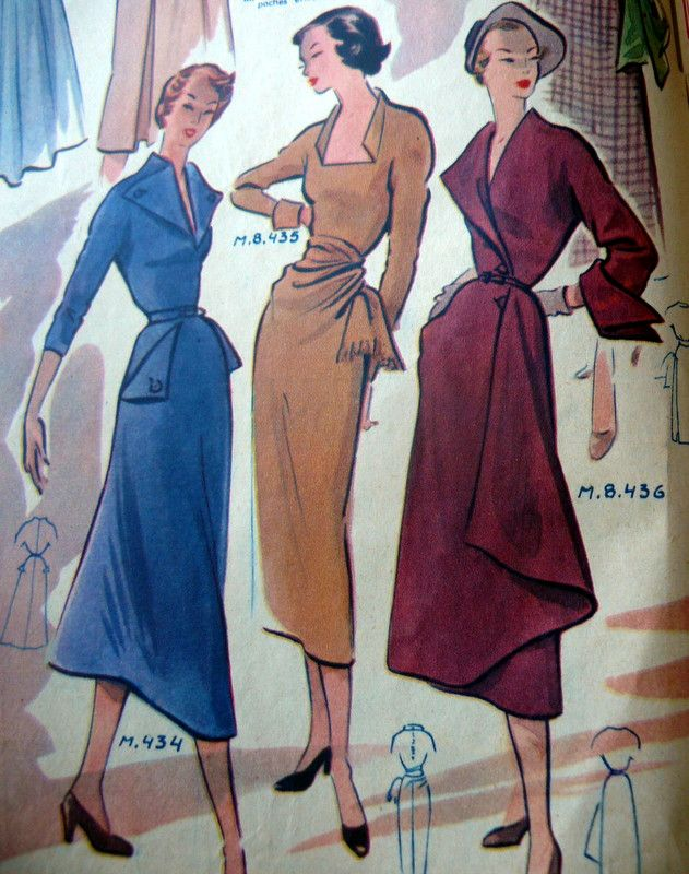 MODE DE PARIS 1949