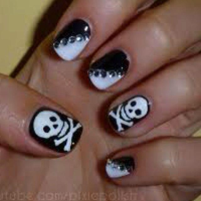rock n roll nail designs | That would be legit! Bringing out my inner rock - Rock N Roll Nail Designs That Would Be Legit! Bringing Out My
