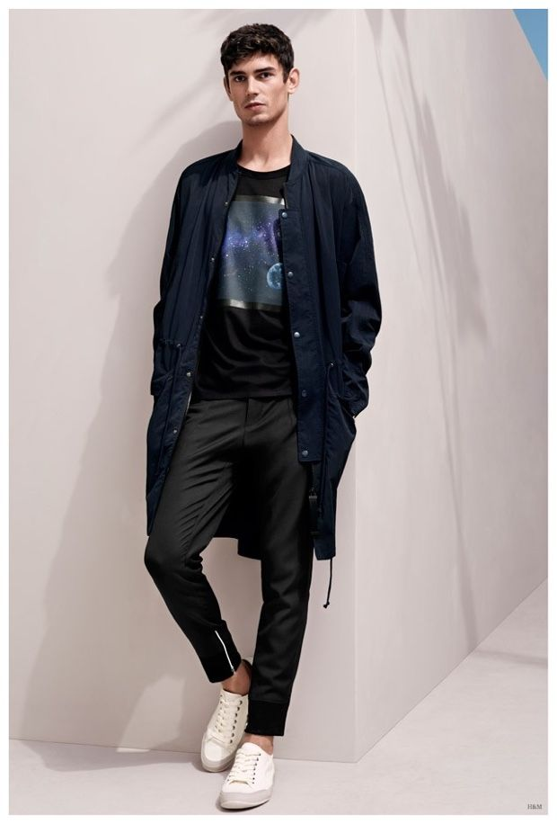 Arthur Gosse Steps Out in New Spring Men s Looks from H M ... 215aea985d
