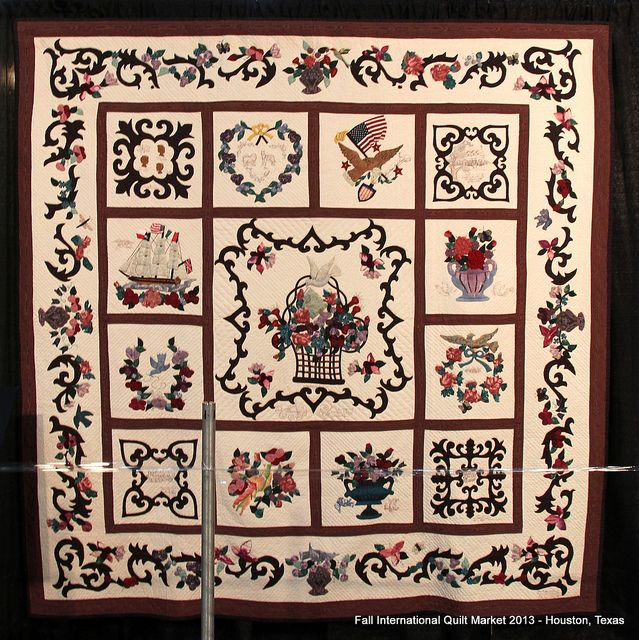 Quilts on Display - Fall Quilt Market - Houston, TX (2) | Flickr - Photo Sharing!