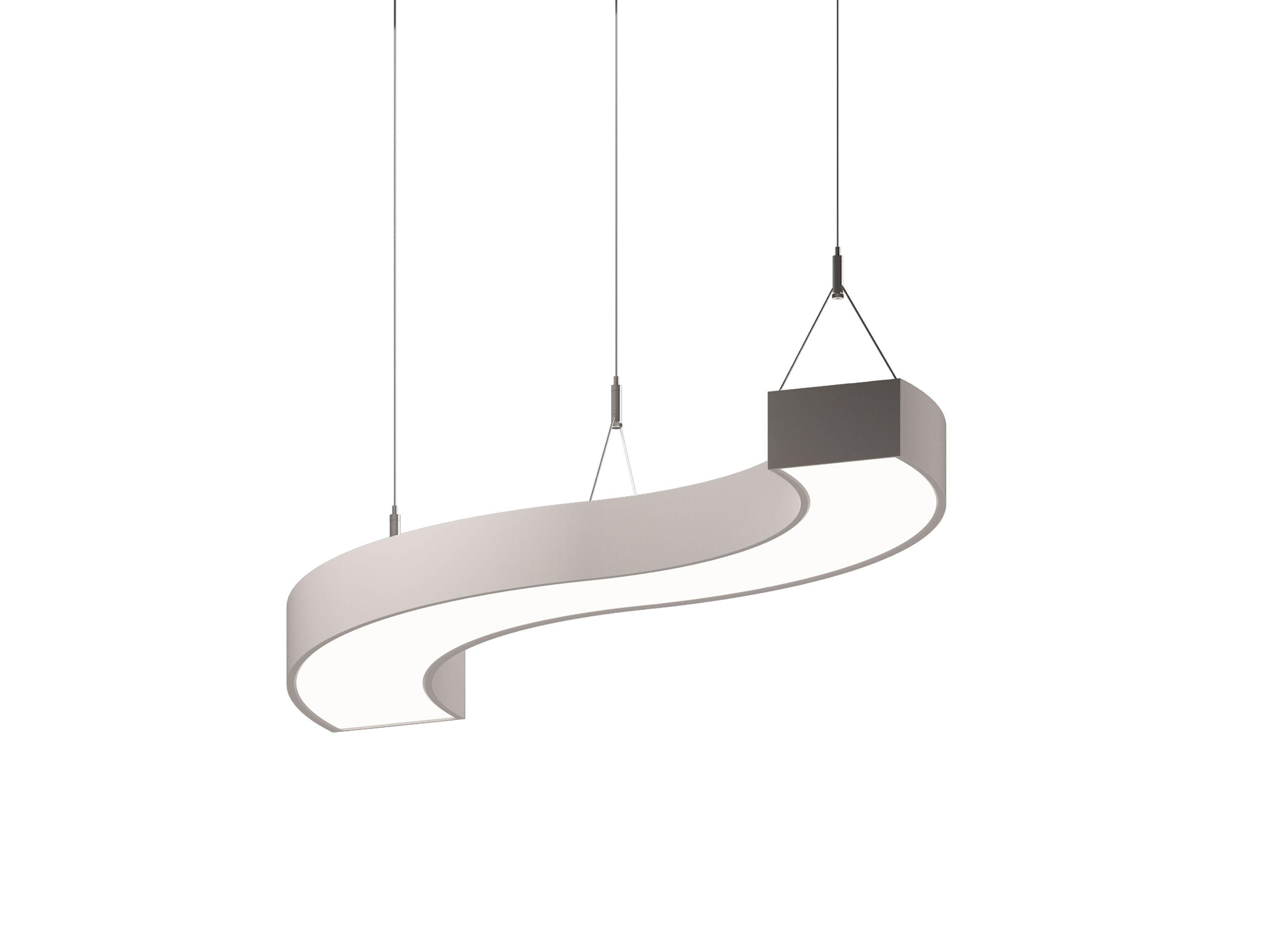 suspended linear lighting. Sketch Pendant | Suspended Linear LED Luminaire #sketchluminaire #lighting #ledlights #suspendedlighting Lighting