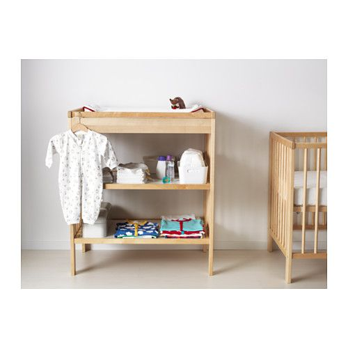IKEA GULLIVER Changing Table Comfortable Height For Changing The Baby.