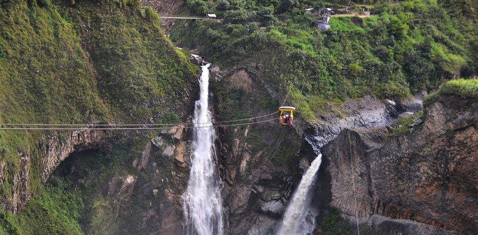 Baños en Ecuador es la puerta de entrada a la Amazonía ecuatoriana y además, puedes conocer sus milagrosas aguas termales y el volcán Tungurahua. Más info: http://www.rutas365.com/es-ecuador-banos-atractivos-turisticos/