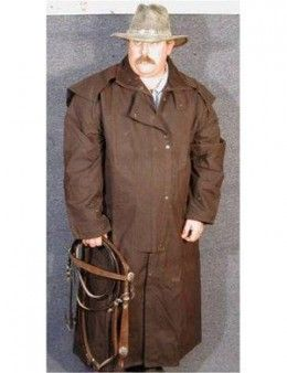 Best Oilskin Dusters | Dusters, Westerns and Brown