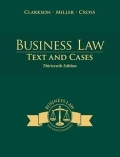 Business Law Text And Cases Free Download By Kenneth W Clarkson