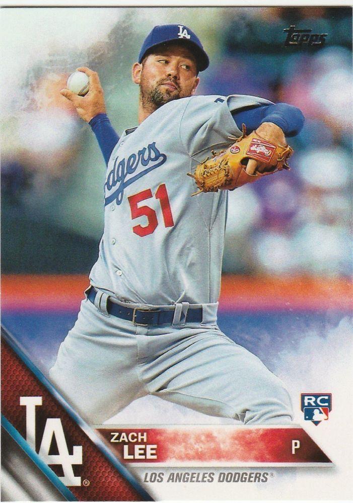 2016 Topps  Series 1 Baseball Zach Lee #127 Los Angeles Dodgers Rookie #LosAngelesDodgers