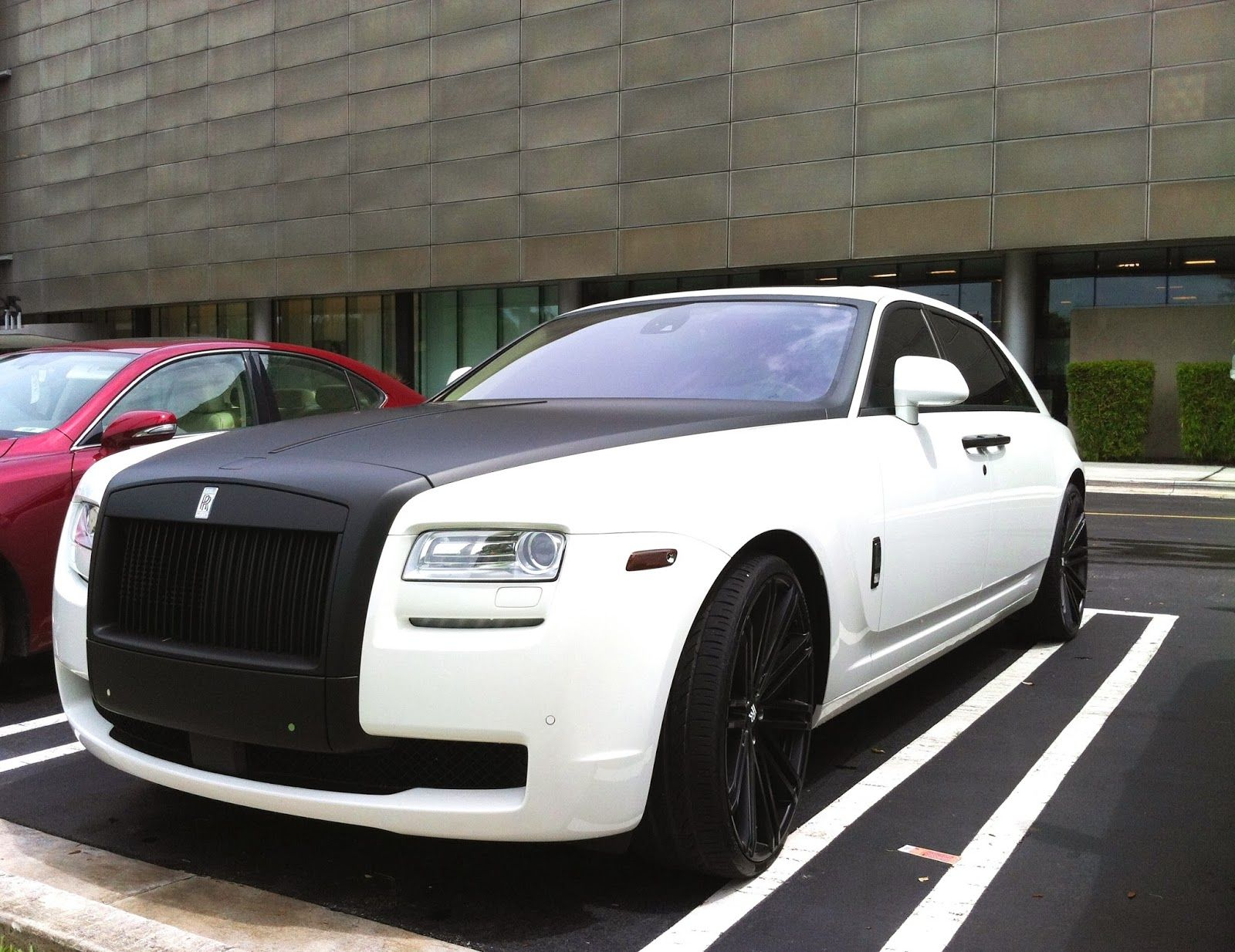 Rolls royce ghost with carbon fiber trim exotic cars on the