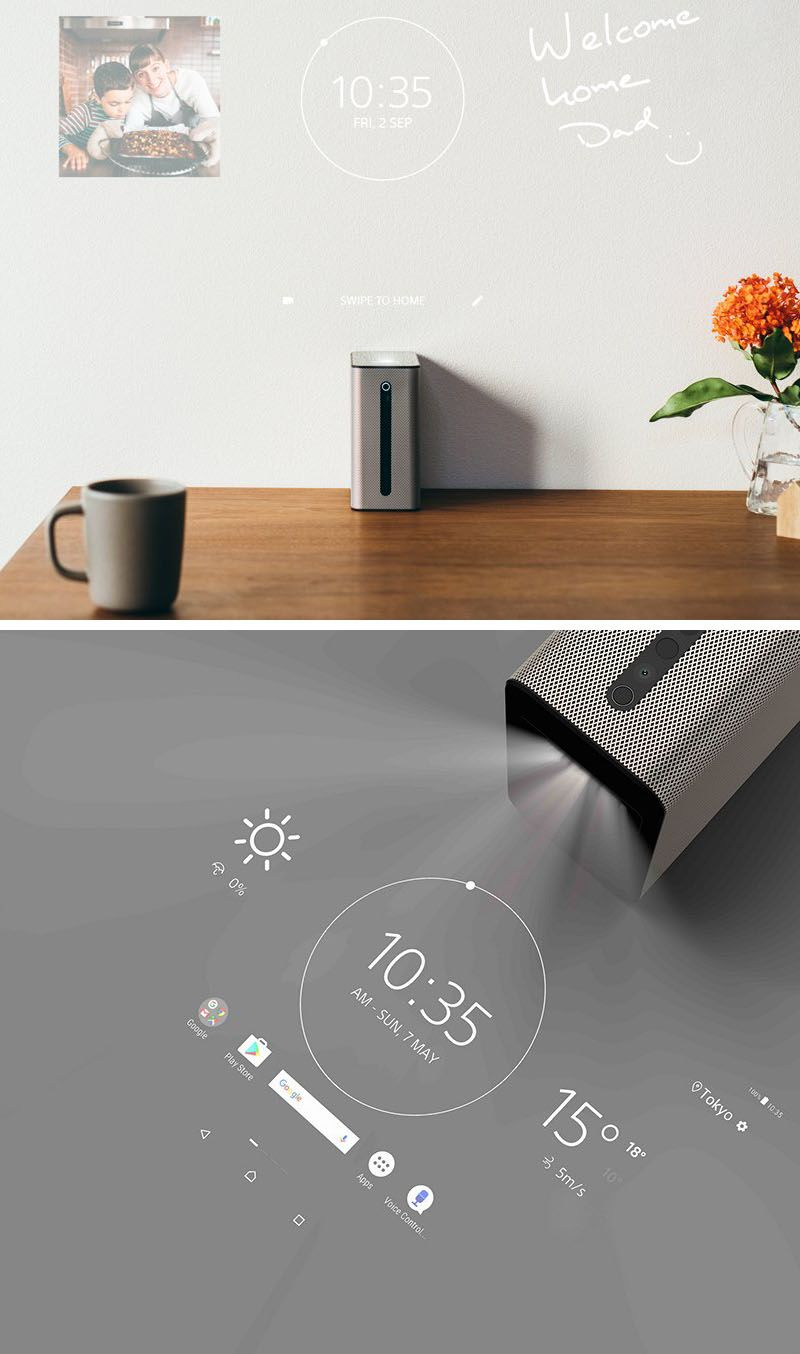 The Xperia Touch by Sony, is a projector that's powered by Android software, that…