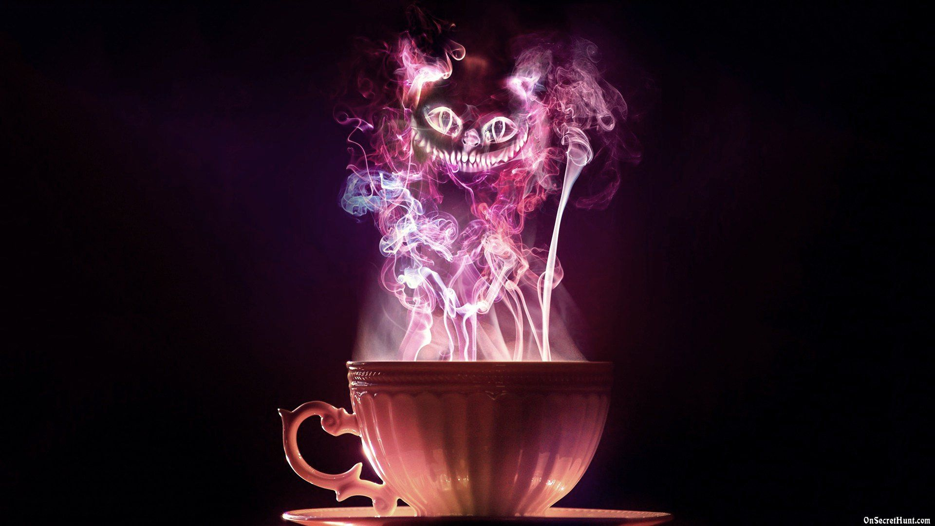Tea party • Cheshire Cat • Alice in Wonderland