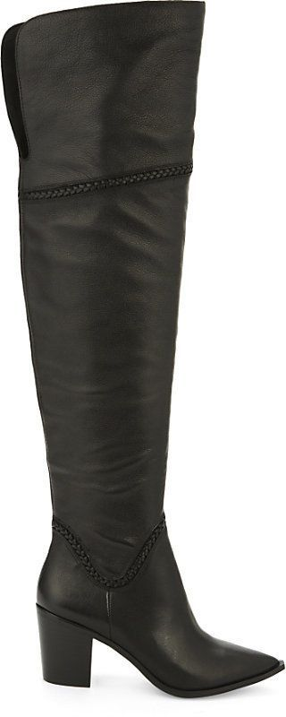 c59f3bbe8ef Aldo Olena leather over-the-knee boots