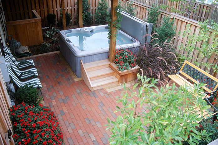 townhouse backyard ideas hidden lane landscaping