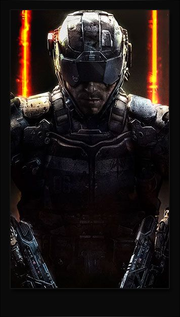 Call of Duty Ghosts Smartphone Wallpaper and Lockscreen HD