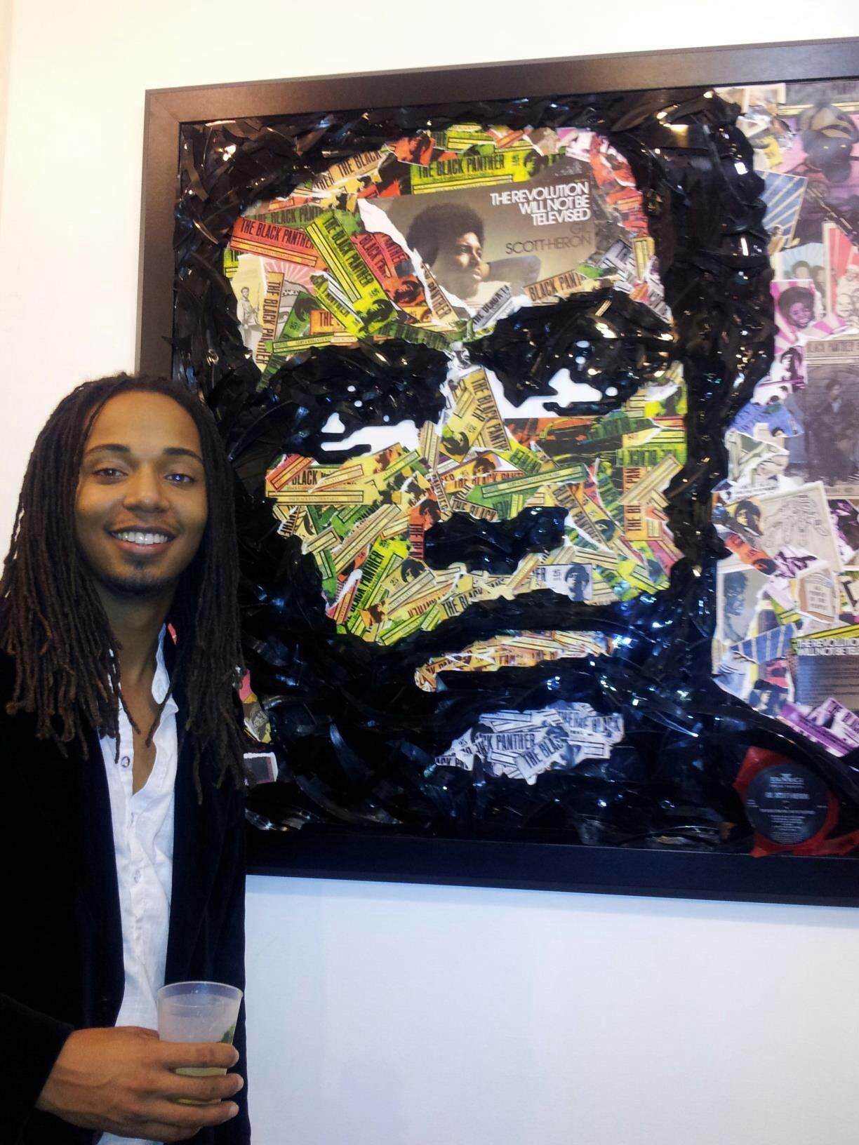 About.htm >> Walter Lobyn Hamilton Pictured Here Vinyl Record Artist Http