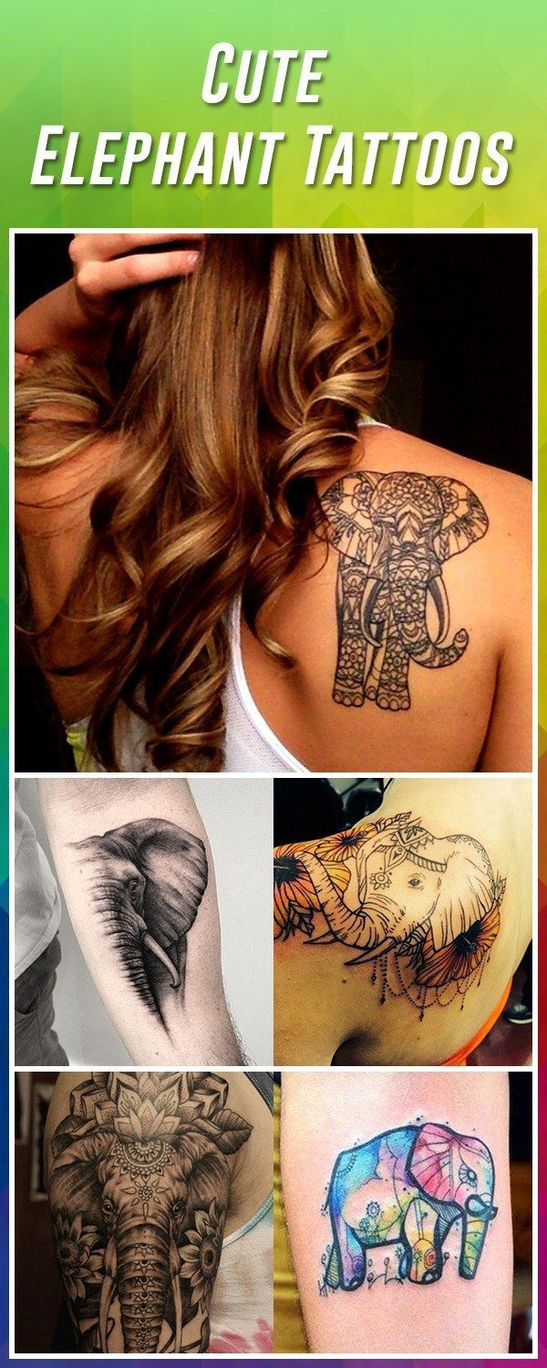 Elephant tattoo ideas beautytatoos beauty tatoos pinterest