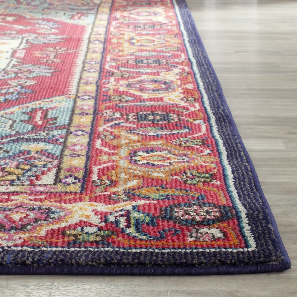 safavieh monaco oriental bohemian red turquoise rug 6u00277 x 9u00272 by safavieh - 6x9 Rugs