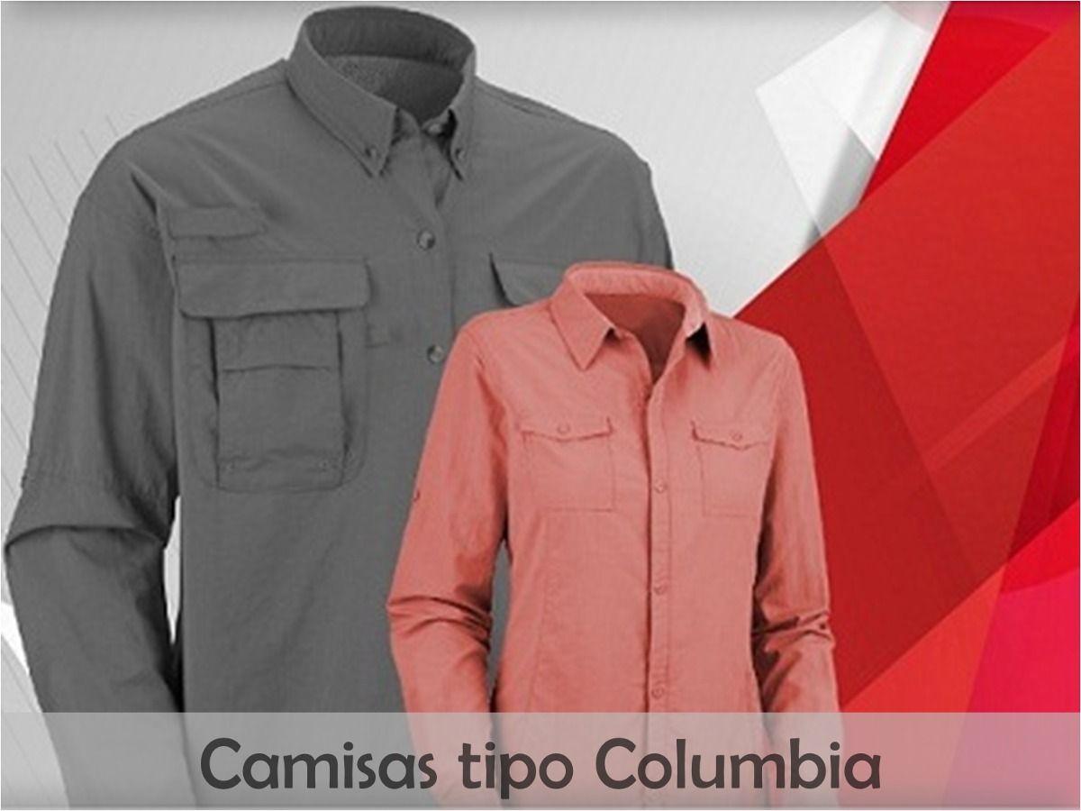 camisa tipo columbia al mayor y detal pida tu cotización en  telas1204 gmail.com 823e479d282