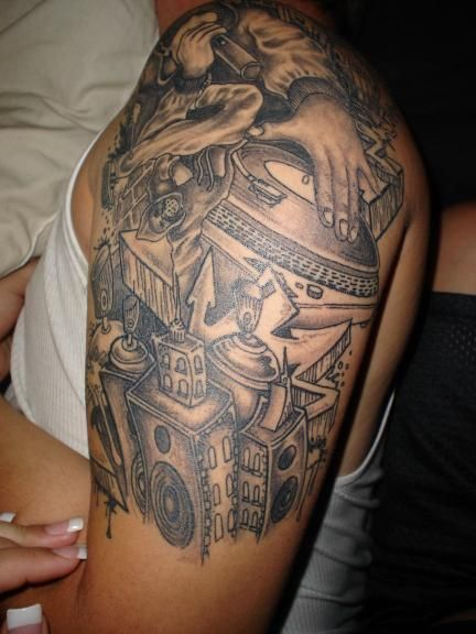 Download free on pinterest hip hop aztec warrior and for Hip hop tattoos