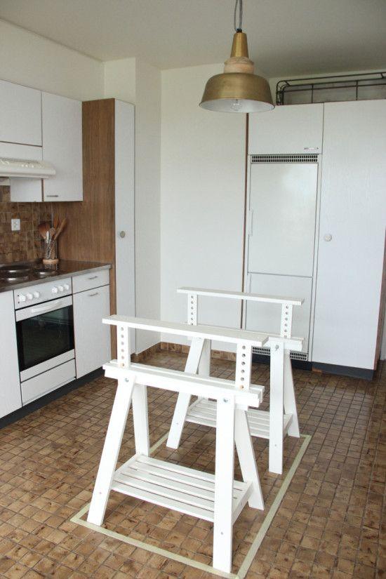 An Alternative Kitchen Island   IKEA Hackers