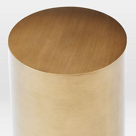 West Elm Metal Drum Side Table Metals Metal Drum And Tables - West elm drum table