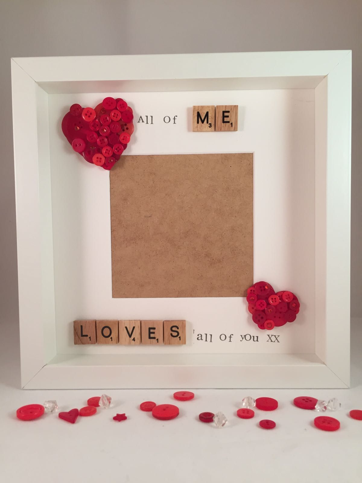 Personalised Photo Frame Perfect For Valentines Day Wife