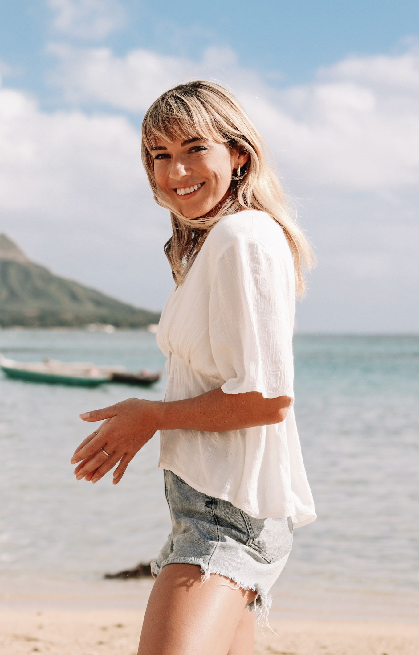 Pro surfer Coco Ho is photographed on September 16, 2014