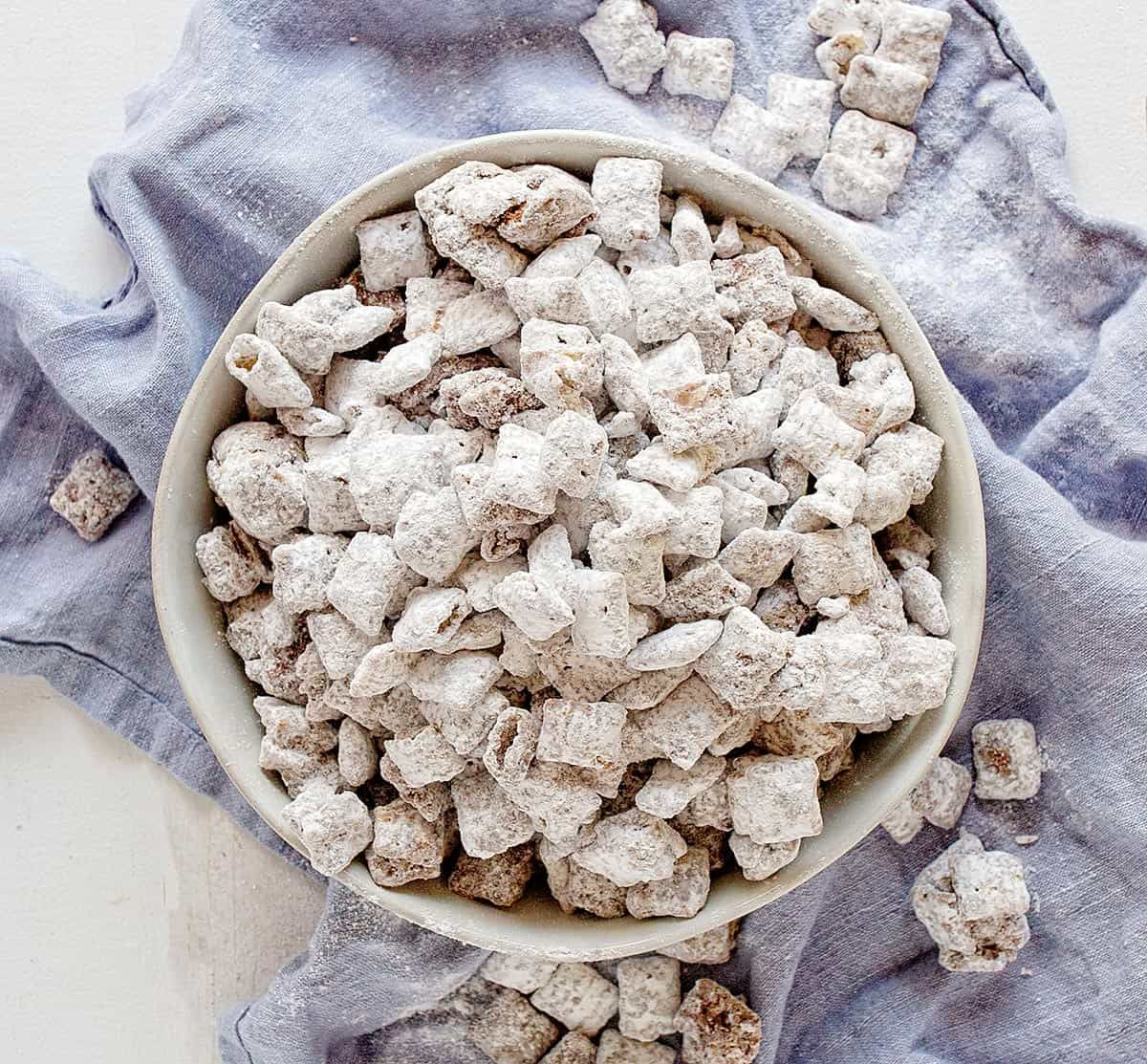 Puppy Chow Is A Snacking Favorite That Uses Peanut Butter